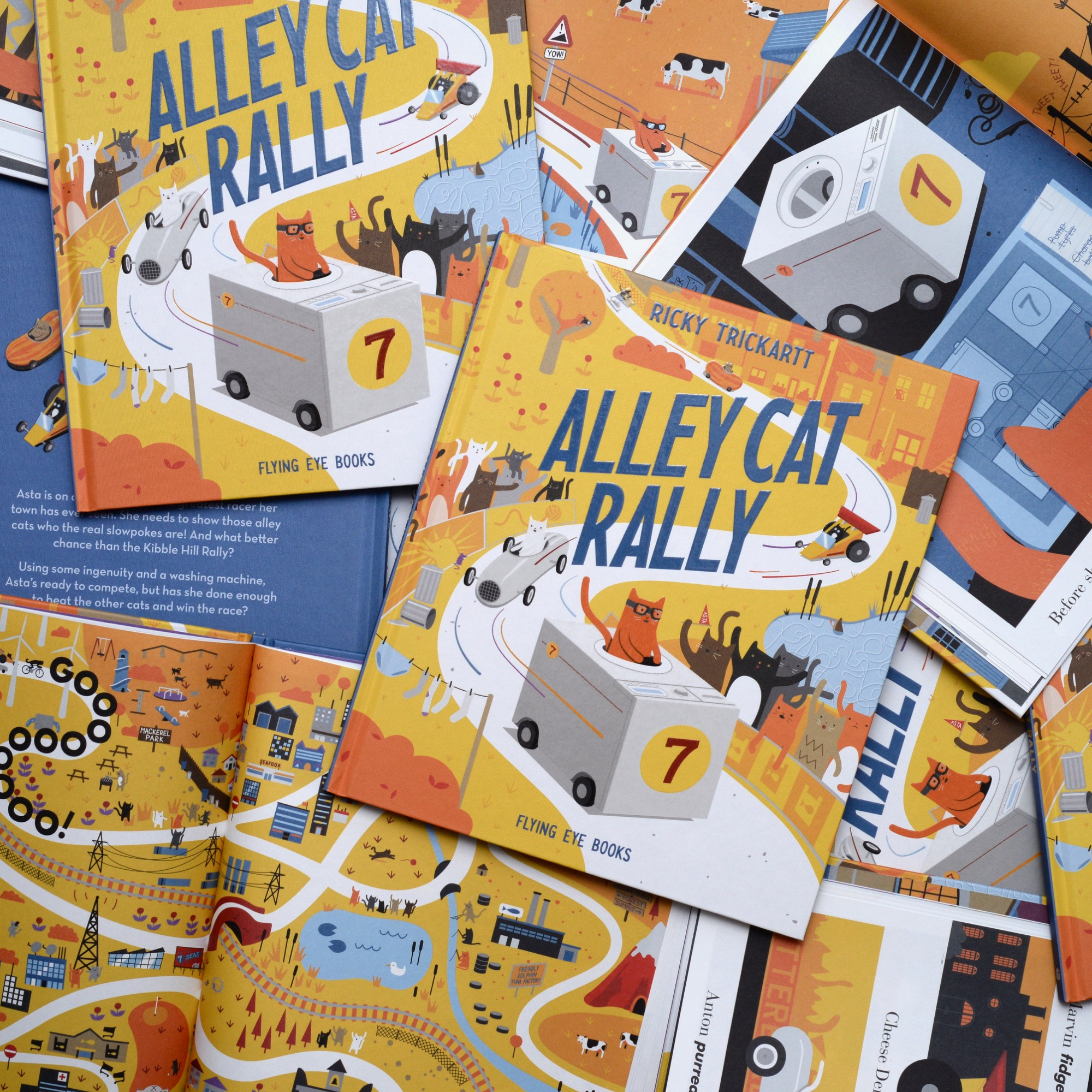copies of Alley Cat Rally by Ricky Trickartt